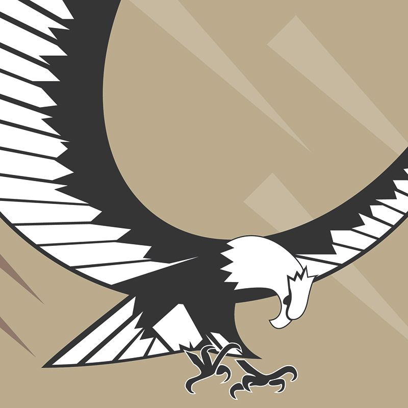 800x800 Eagle Vector Clip Art Graphic Get It Free!