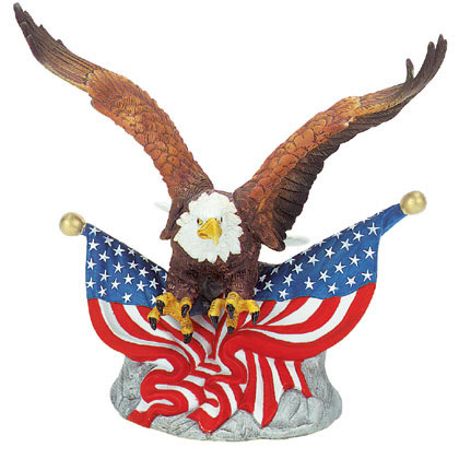 420x420 Eagle With Flag Clip Art