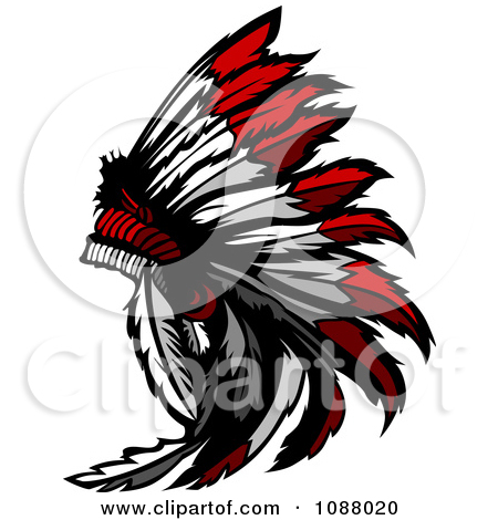 450x470 Native American Feather Clipart