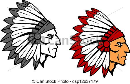450x290 Indian Brave Clip Art