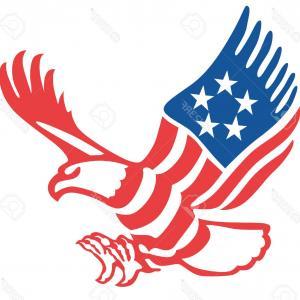 300x300 Vintage Patriotic Bald Eagle Clip Art Createmepink