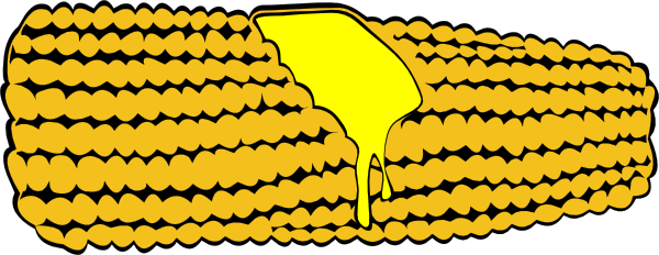 600x232 Corn On The Cob Clip Art Free Vector 4vector