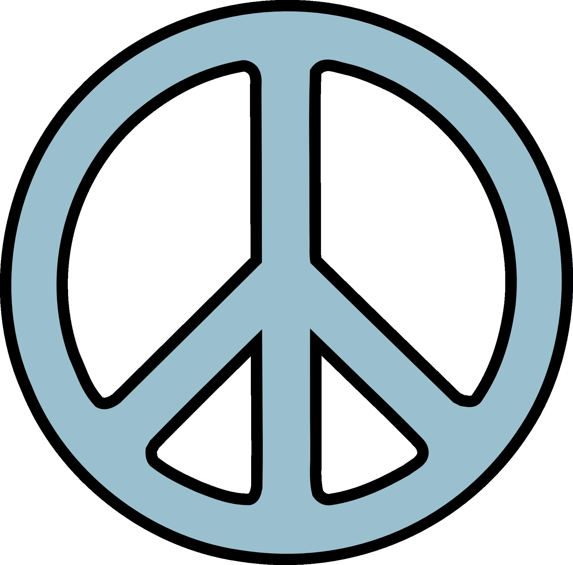 1969x1939 Peace Signs Clip Art