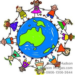 298x300 Collection Of Kids Around The Earth Clipart High Quality