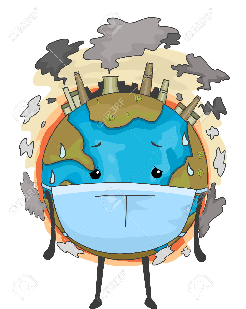 1034x1300 Natural Pollution Clipart