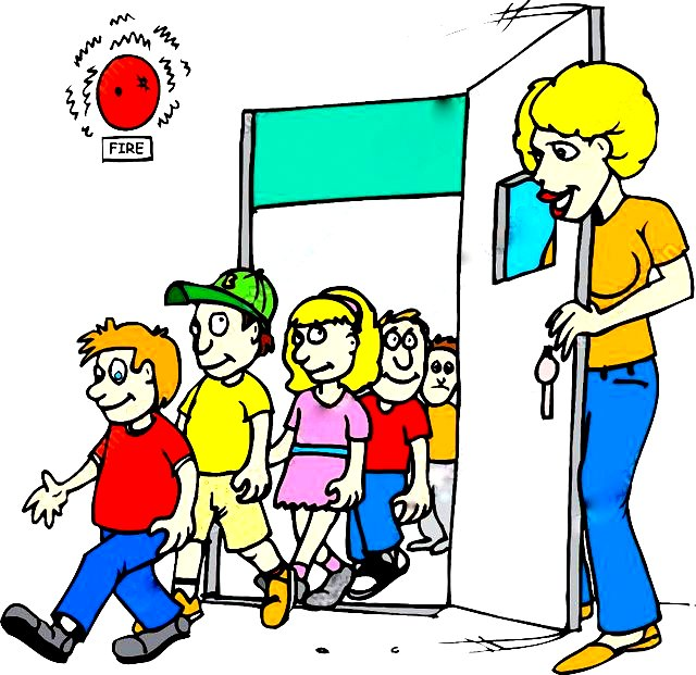640x621 Collection Of Earthquake Drill Clipart High Quality, Free