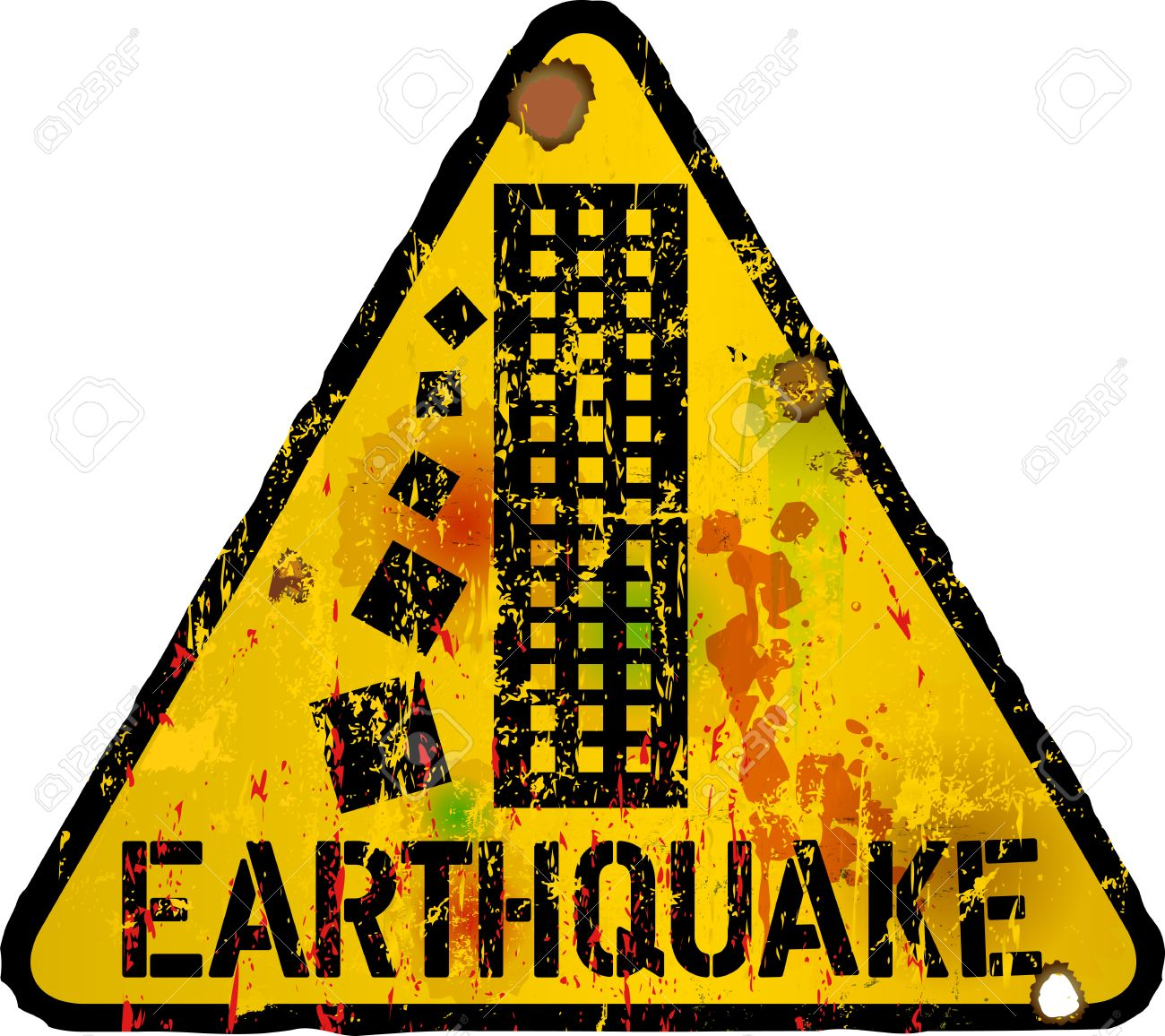 1300x1156 Extremely Inspiration Earthquake Clipart Stock Illustration