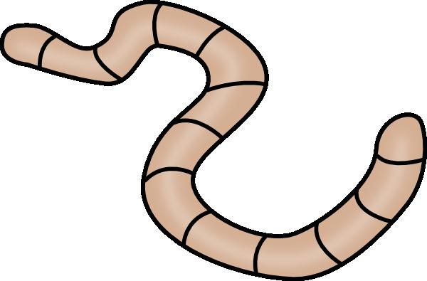 600x395 Brown Earth Worm Clip Art
