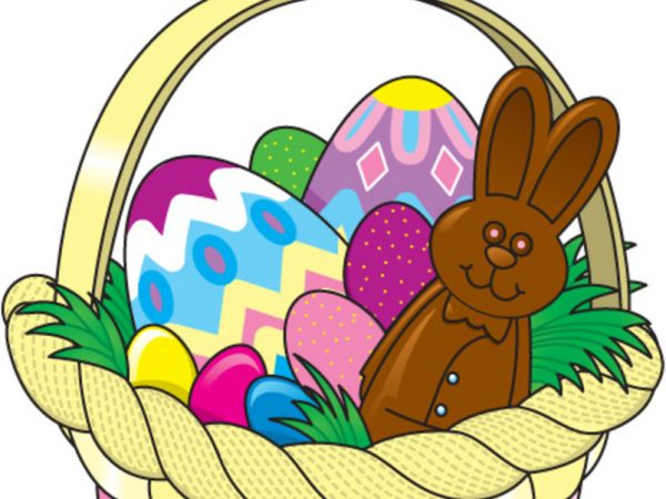 600x450 Clipart Easter Basket
