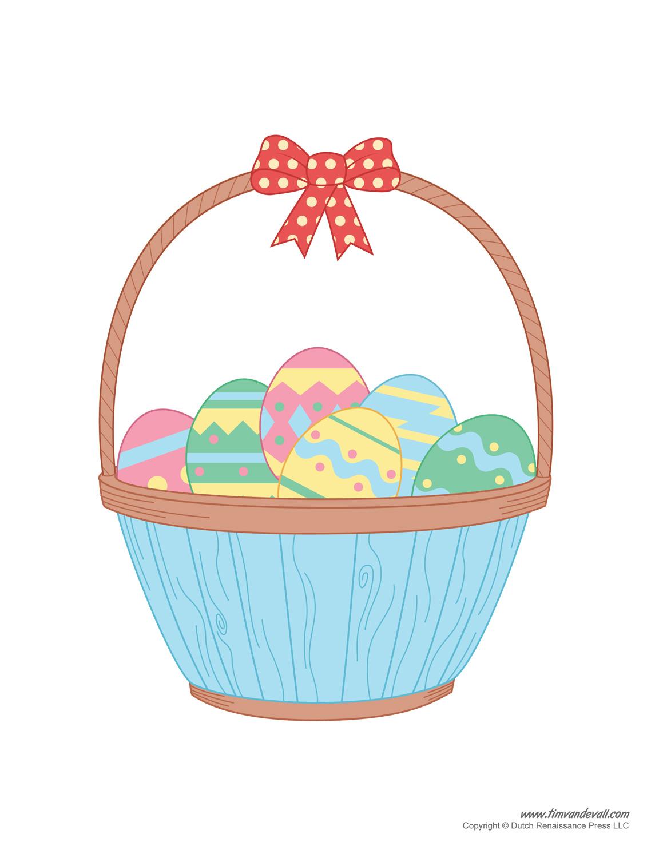 1159x1500 Easter Basket Template, Easter Basket Clipart Amp Easter Craft