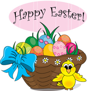 287x300 Free Easter Basket Clipart Image 0515 1003 2004 3343 Easter Clipart