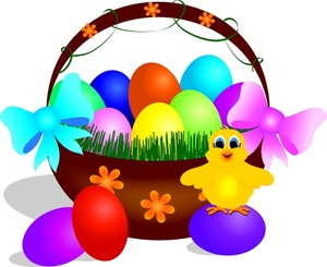 300x245 Free Easter Basket Clipart Image 0515 1003 2902 0010 Computer