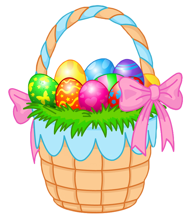 640x748 Transparent Easter Basket Png Clipart Pictureu200b Gallery