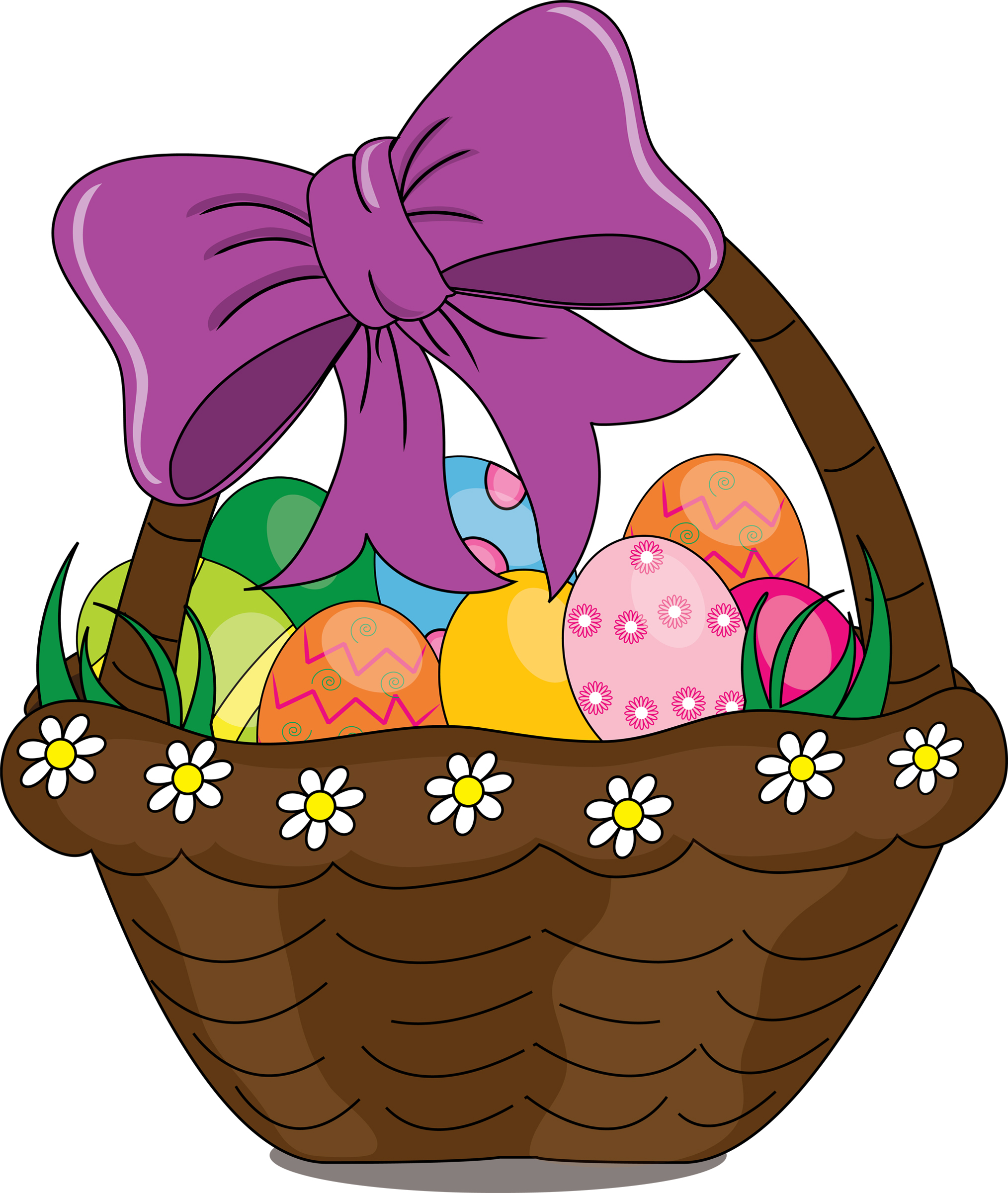 easter basket clipart at getdrawings com free for personal use rh getdrawings com easter basket clipart images easter basket clip art black and white