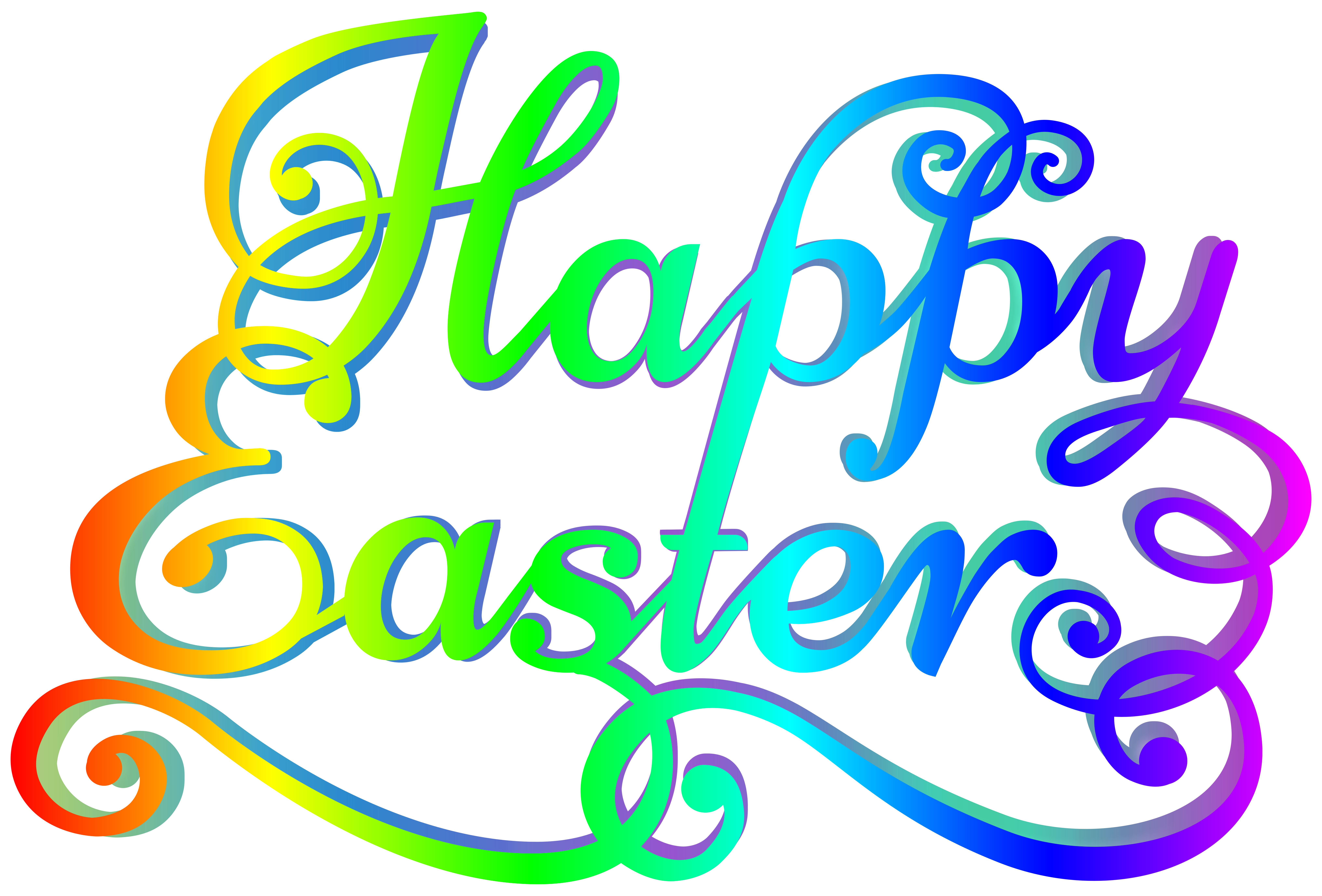 8130x5514 Happy Easter Clip Art Merry Christmas And Happy New Year 2018
