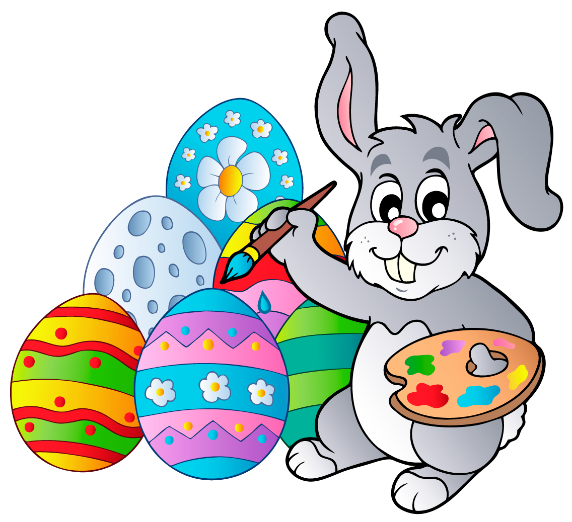 1136x1038 Transparent Easter Bunny With Eggs Png Clipart Pictureu200b Gallery