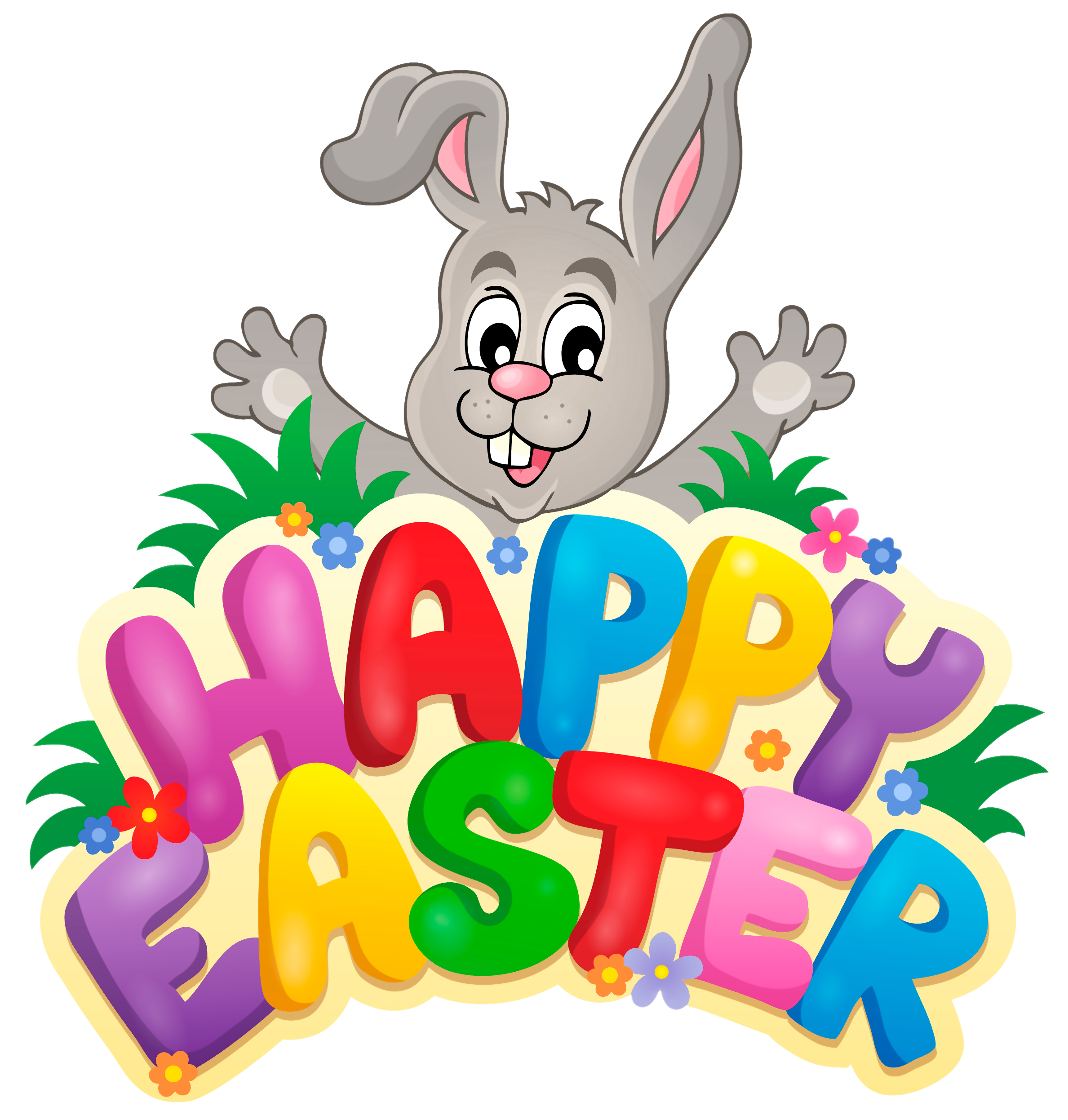 2377x2492 Transparent Happy Easter With Bunny Png Clipart Pictureu200b Gallery
