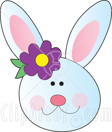 382x450 Easter Bunny Face Clipart Hd Easter Images