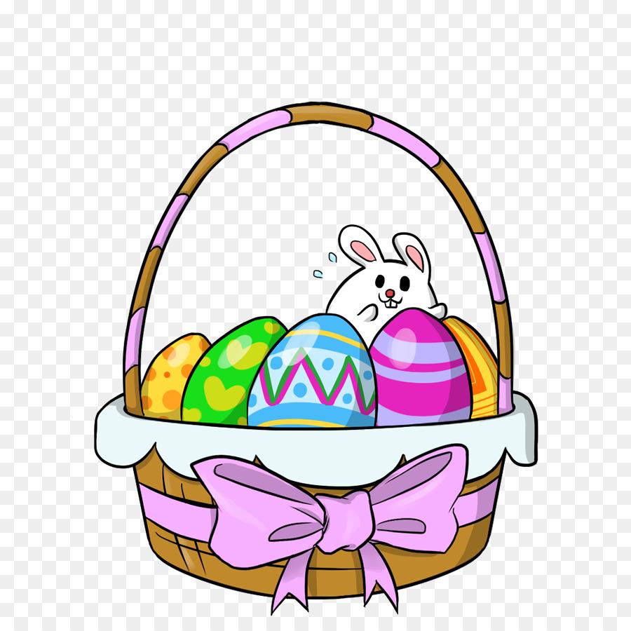 900x900 Easter Bunny Animation Easter Basket Clip Art