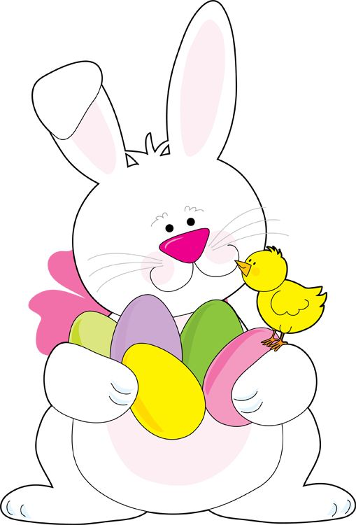 509x750 Easter Bunny Clip Art Happy Easter 2018
