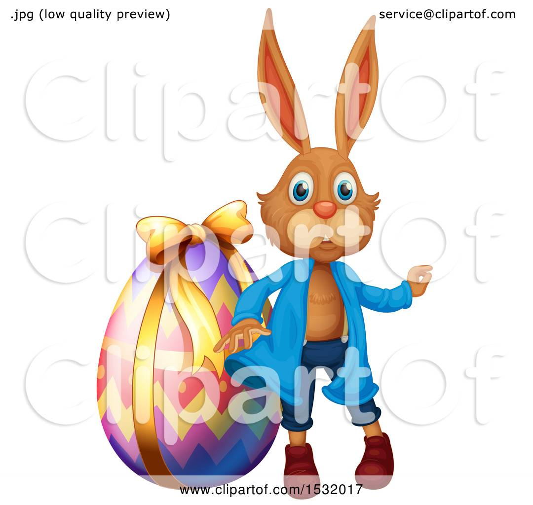1080x1024 Clipart Of A Bunny Rabbit With An Easter Egg