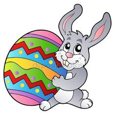 236x236 Easter Bunny With Egg Transparent Png Clip Art Image Awe Holiday