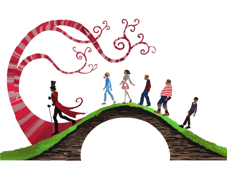 753x560 Charlie And The Chocolate Factory Clipart