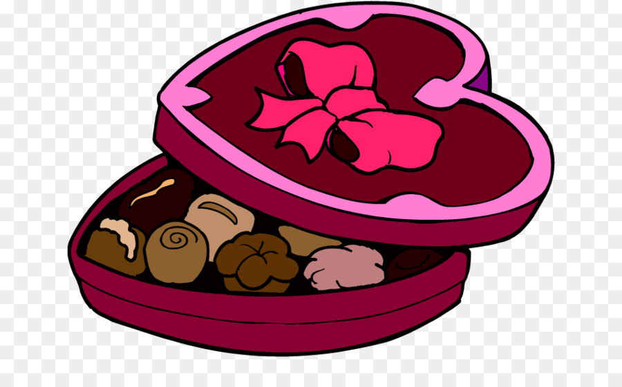 900x560 Chocolate Brownie Valentine's Day Candy Clip Art