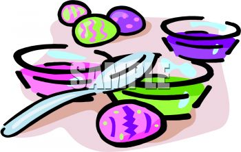 350x222 Dyeing Clipart