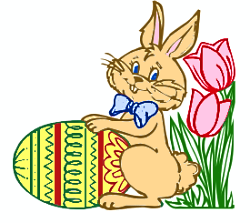 250x223 Free Colored Easter Eggs Clipart