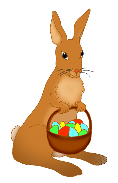 459x709 Pretentious Design Easter Candy Clipart Library Basket With Eggs