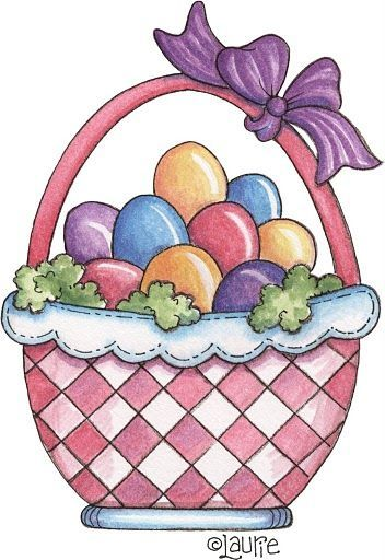 352x512 385 Best Easter Clip Art Images On Easter, Bunnies
