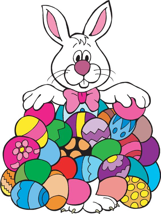 566x750 Easter Egg Hunt Clipart