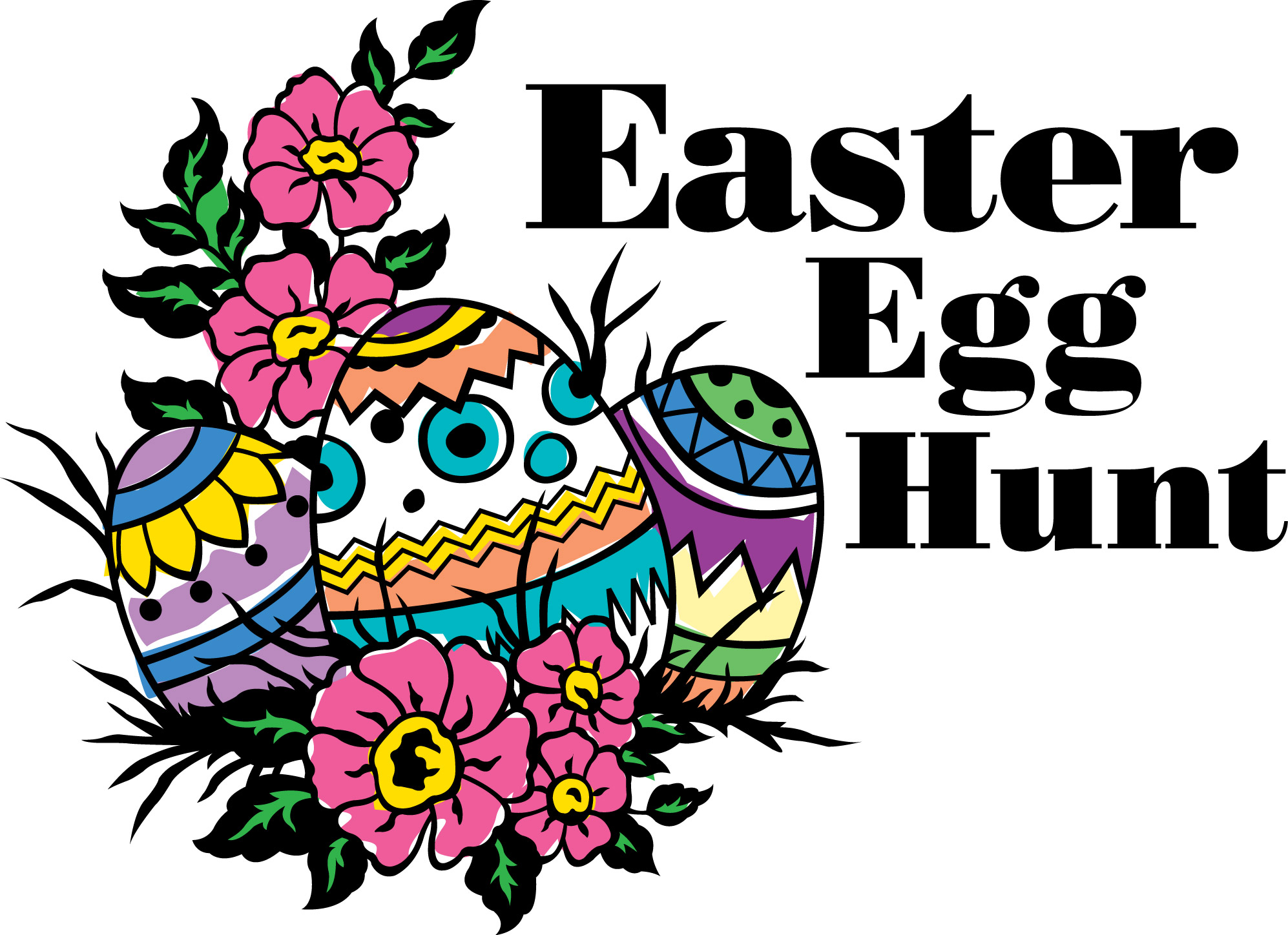 1994x1448 Free Easter Egg Hunt Clipart Merry Christmas And Happy New Year 2018