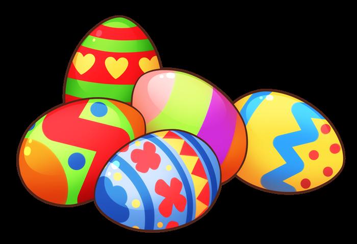 700x478 Easter Eggs In Grass Clip Art