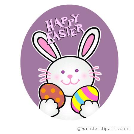 450x450 Hoppy Easter Clip Art Happy Easter 2018