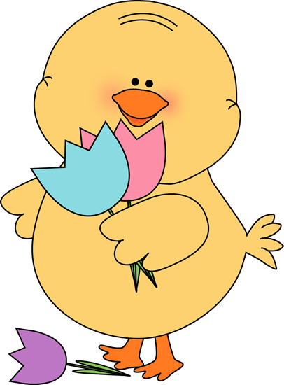 406x550 Easter Chick Clip Art