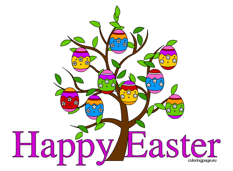 808x595 Happy Easter Clip Art Danaambc Top