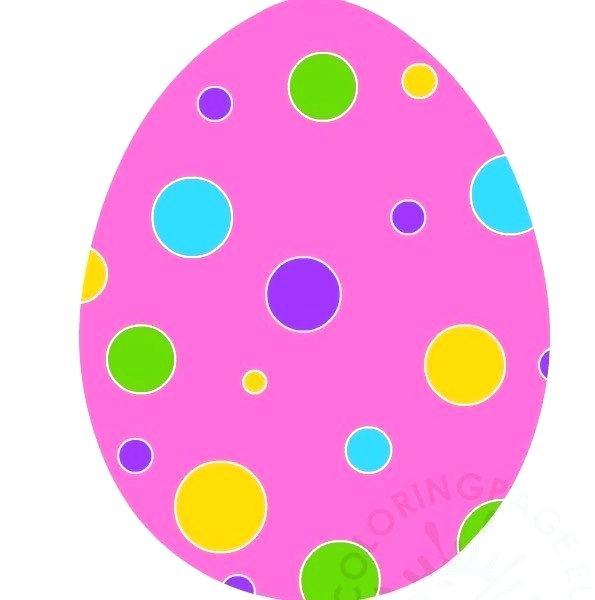595x600 Egg Coloring Page Printable Easter Eggs Printable Easter Egg