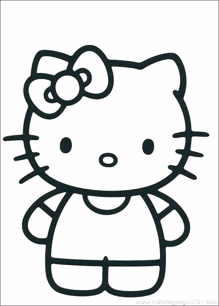 731x1024 33 Best Hello Kitty Coloring Pages Freeline Images