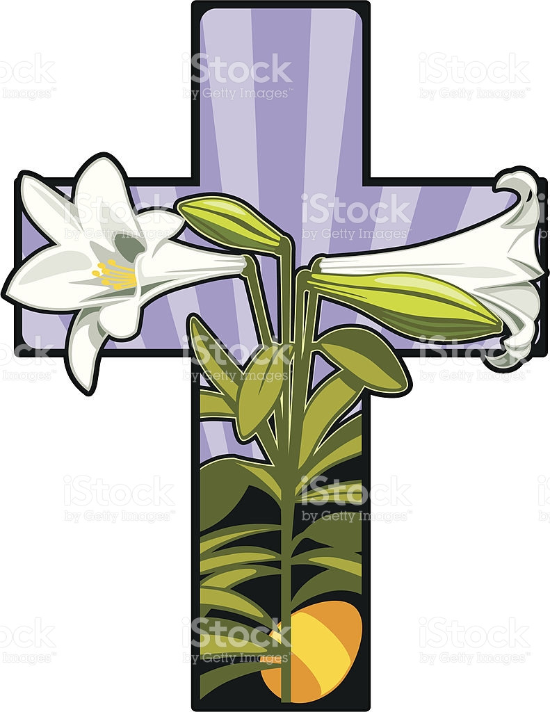 791x1024 Easter Lily Christian Cross Flower Funeral Clip Art Png Also