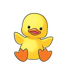 Easter Duck Clipart