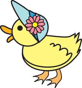 278x300 Free Duck Clipart Image 0071 0902 1510 1716 Easter Clipart