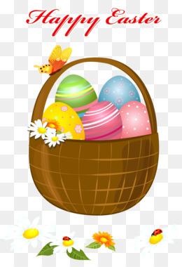 260x380 Easter Bunny Easter Basket Clip Art