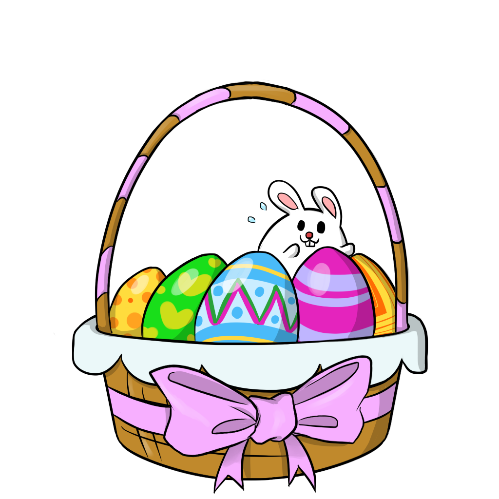 1024x1024 Easter Clipart Free Easter Basket 2 Clip Art Easter