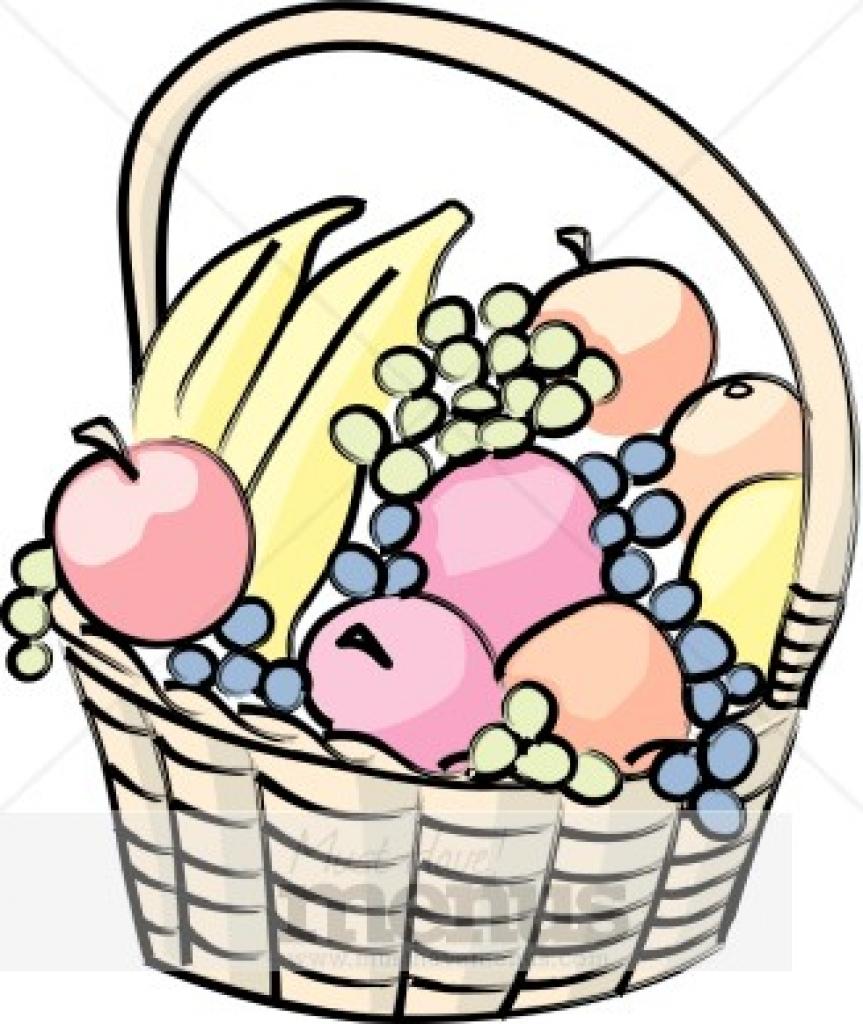 863x1024 Clip Art Basket Clip Art