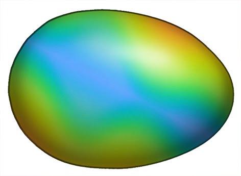 472x345 Rainbow Easter Egg Clipart