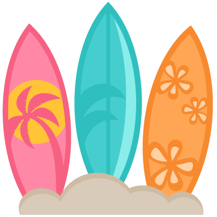 432x432 Surf Board Clip Art Free Surfboard Clipart Pictures Clipartix