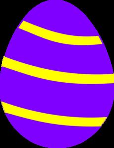 230x297 Easter Egg Clip Art
