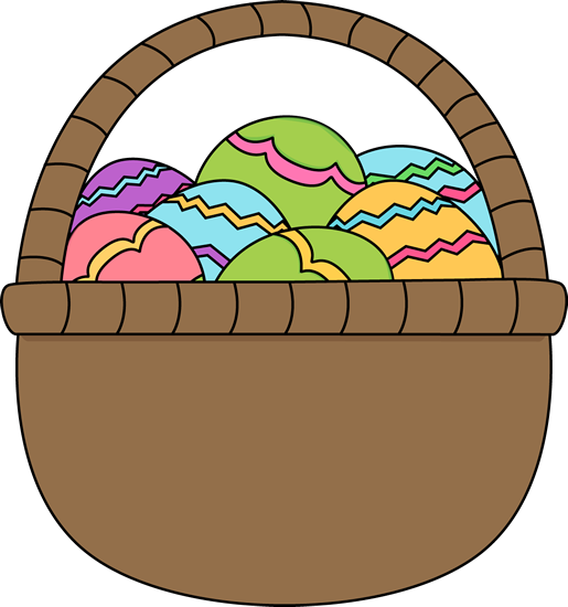 515x550 Easter Eggs Clipart Free
